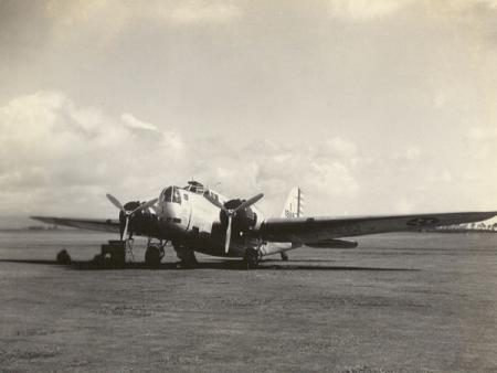Martin B-18 Bomber of the 5th Bombardment Group, Hickam Field, Hawaii ca. 1940