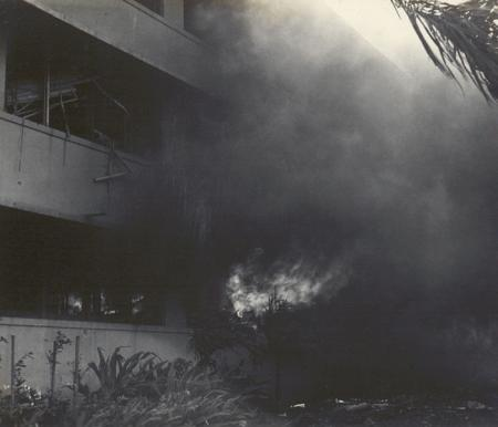 Fire in the Barracks at Pearl Harbor