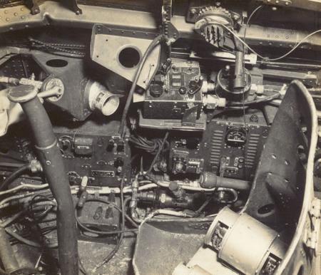 Destroyed Aircraft interior 1941