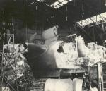 Destroyed aircraft in a hanger at pearl harbor