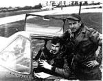 1st Lt Robert Nelson and Frank Blankenschaen Crew Chief