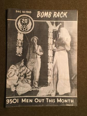 10 December 1945 Issue, Bomb Rack