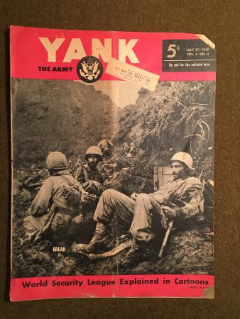 27 July 1945 Yank Magazine