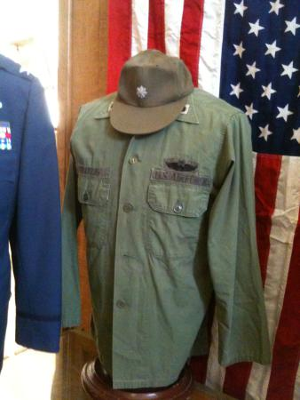 Vietnam Era Fatigue Shirt, Baseball Cap. James Zweizig