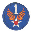 1st Army Air Forces Patch 1st Air Force