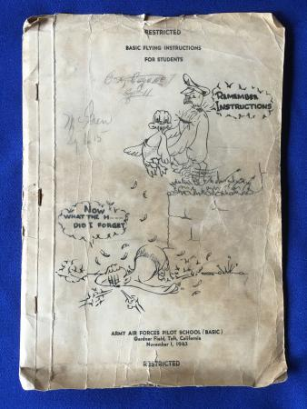 Basic Flying Instructions for Students Manual Billie Delmar McGrew