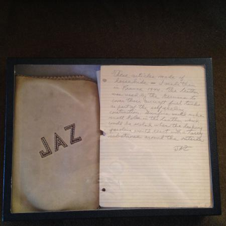 Leather Binder Created Out Of German Aircraft Parts, War Souvenier James Zweizig