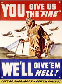 wwii posters for war bonds and recruiting