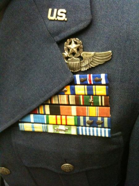 Dress Blue, Class A, USAF James Zweizig